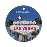 Las vegas wedding Ornaments