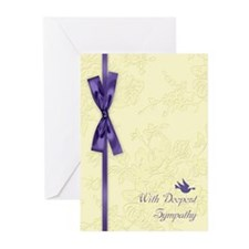 With Sympathy Greeting Cards (pk Of 10)
