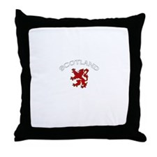 Scotland Lion (Dark) Throw Pillow