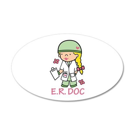 E.R. Doc Wall Decal