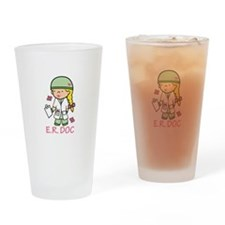 E.R. Doc Drinking Glass