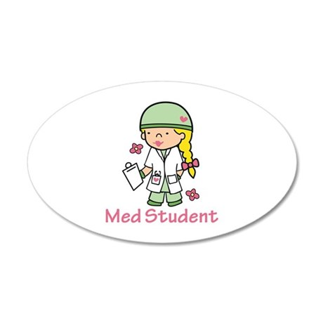 Med Student Wall Decal