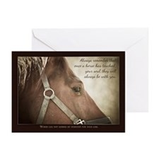 Horse Sympathy Greeting Cards (pk Of 10)