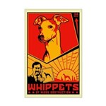 Whippets of Mass Destruction Mini Poster Print