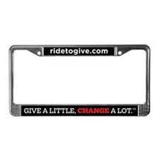 Cute Change License Plate Frame