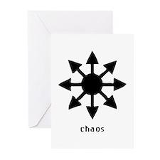 Chaos Symbol Greeting Cards (Pk of 10)