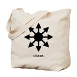 Chaos Symbol Tote Bag