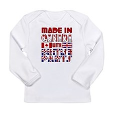 Cute Canada day Long Sleeve Infant T-Shirt