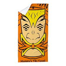 Custom Tiki Beach Towel