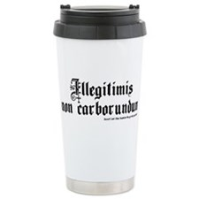 Unique Let down Travel Mug