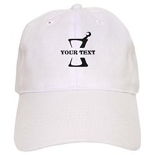Black your text Mortar and Pestle Baseball Cap