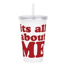 allaboutme.png Acrylic Double-wall Tumbler