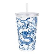 dragon-pattern_blue-tr_8x12h.png Acrylic Double-wa