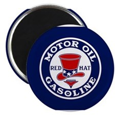 Cute Retro auto racing Magnet