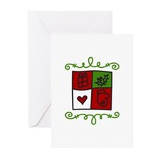 Quilt Square Greeting Cards