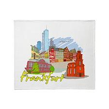Frankfurt - Germany Throw Blanket