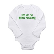 Unique St patrick Long Sleeve Infant Bodysuit