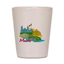 Mexico City - Mexico Shot Glass