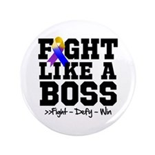 "Bladder Cancer Fight 3.5"" Button (100 pack)"