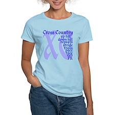 Cross Country XC blue T-Shirt