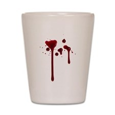 Dripping blood Shot Glass