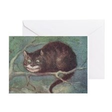 Cheshire Cat - Greeting Cards (Pk of 10)