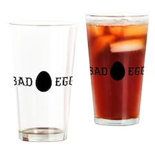 Bad egg Drinking Glass