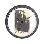 Etta and Sundance Wall Clock