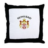 Novi Sad, Serbia & Montenegro Throw Pillow