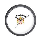 Novi Sad, Serbia &amp; Montenegro Wall Clock