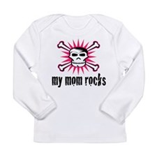 my mom rocks Long Sleeve T-Shirt