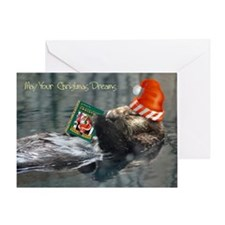Dreamy Otter Greeting Cards