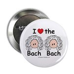 I Love the Bach Double Button