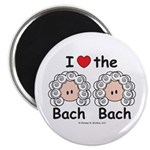 I Love the Bach Double Magnet (10 pack)