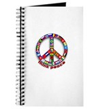 Think Peace with Flags Journal