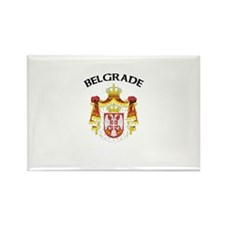 Belgrade, Serbia & Montenegro Rectangle Magnet