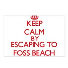 Keep calm by escaping to Foss Beach New Hampshire