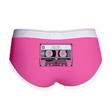 Cassette Tape - Grey Women's Boy Brief