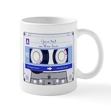 Cassette Tape - Blue Small Mug