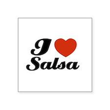 ilovesalsawhite Sticker