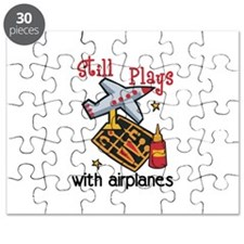 Still Plays with airplanes Puzzle