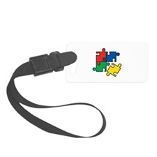 44. Jigsaw Puzzle Luggage Tag