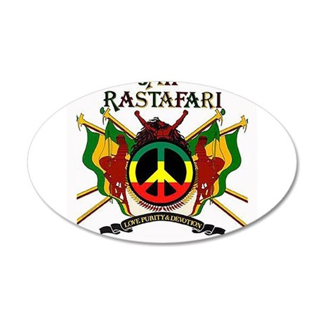 Jah Rastafari Wall Decal