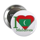 I love Maldives Button