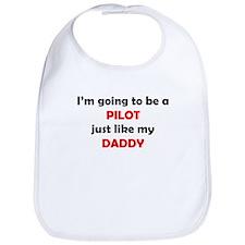 Pilot Like My Daddy Bib