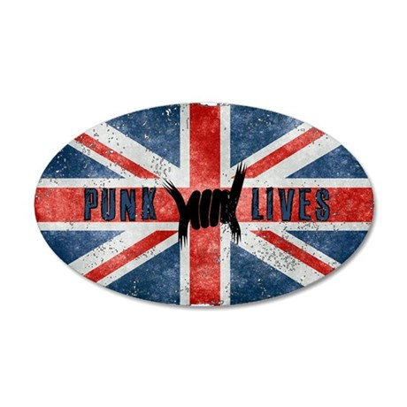 Punk Lives-BRITISH FLAG Wall Decal