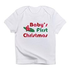 Baby's First Christmas Infant T-Shirt