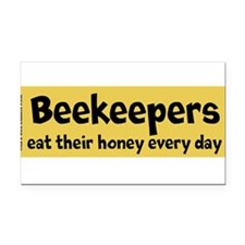Honey Rectangle Car Magnet