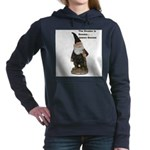james gnome gname1.jpg Women's Hooded Sweatshirt