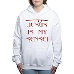 Red Katanaoilb.jpg Women's Hooded Sweatshirt